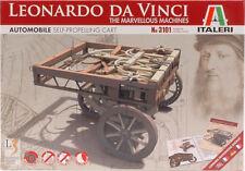 Leonardo Da Vinci 3101 Self Propelling Cart - Marvellous Machines ITALERI