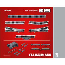 Fleischmann 919084 N Profi-Gleis DCC Digital-Gleisset Ü2 ++ NEU & OVP ++