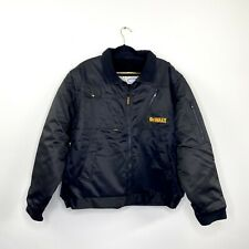 Dewalt Ford Mens Jacket Black Water Resistant Weatherproof Convertible Size XL