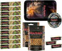 Kashmir Rolling Tray bundle Rolling Papers,ashtray and pre rolled Tips US Seller