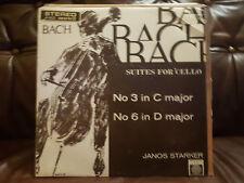 Janos Starker - J.S. Bach,Suites For Unaccompanied Cello (XID5161) 1963 (LP)