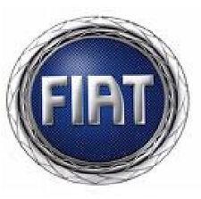 Set 4 Coprimozzi Coppette Borchie Cerchi in Lega Fiat Corona Cromata 55mm