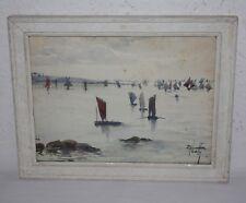 Aquarell aus der Glendauer Sammlung, franz. Impressionisten, Elisabeth Zabeth