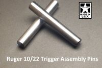 Ruger 10/22 Oversized/Upgraded Stainless Trigger Assembly Receiver Cross Pins B5