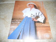 """Joan Collins Sexy Signed Autographed 7.25""""x9.25"""" Book Photo #9 PSA Guaranteed"""