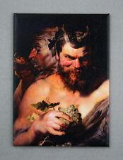 SATYRS Magnet, 3.5 x 2.5 inches, Dionysus, Pan, Greek & Roman Mythology