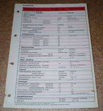 Inspektionsblatt Honda Accord 1.6 L ab Modelljahr 1986!