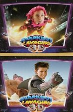 THE ADVENTURES OF SHARKBOY AND LAVAGIRL - 8x10 US Lobby Cards Set Taylor Lautner