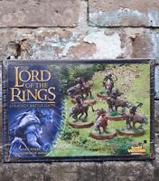 Sealed Lord of the Rings Warg Riders Games Workshop hobbit strategy battle game