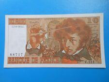 10 francs Berlioz 7-8-1975 F63/12 SUP à SUP+