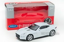 Jaguar F-Type Coupe white, Welly 44049, scale 1:43, model toy car boy gift