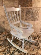 """Wooden 12.5"""" rocking chair/rockinghorse"""