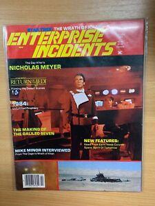 "*RARE* FEB 1984 STAR TREK ""ENTERPRISE INCIDENTS"" #14 USA MAGAZINE (P4)"