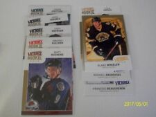 LOT OF 9 UD VICTORY GOLD 2009-10 WITH 6 ROOKIES GOLD INCLUDE: TAVARES-DUCHENE