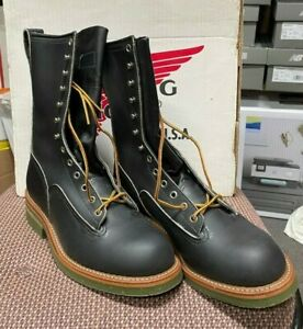 100% AUTHENTIC VINTAGE RED WING 919 7 E NEW IN BOX MADE IN USA NOS POLE CLIMBER