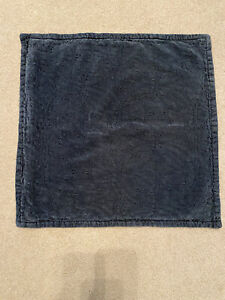 """Pottery Barn Chenille Jaquard 20"""" Pillow Covers - 2 Sailor Blue"""