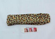 Classic Animal Print Headband Leopard Cheetah Tan Rust HairBand Ouchless B