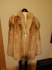 Reduced Fabulous Vintage  RARE Cedric Red Fox Fur Coat JMM Medium/Large MINT