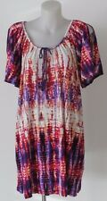 Autograph Stretch Print Long Top Plus Size 20
