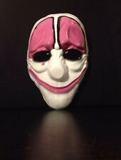 PAYDAY 2 THE HEIST HOXTON MASK HALLOWEEN COSTUME PARTY HORROR PROP