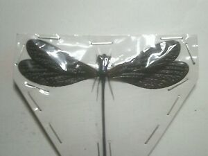 Real Insect/Butterfly/Moth Set B7437 Large Dragonfly/Damsel Fly Dark Blue/Black