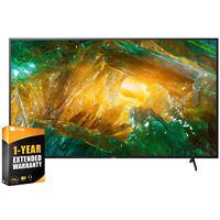 """Sony 85"""" X800H 4K Ultra HD LED Smart TV 2020 Model + 1 Year Extended Warranty"""