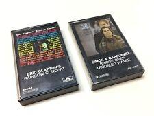 Simon Garfunkel and Eric Clapton Audio Tape Cassette - CBS SONY Polydor