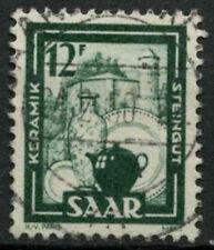 Saar 1949-51 SG#272, 12f Pottery Definitive Used #A81232
