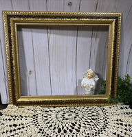 """MCM Picture Frame Ornate Baroque Gold 11""""X 14""""  Wall Portrait Wedding"""