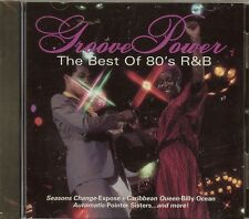 Groove Power - The Best Of 80's R&B by Various Artists - CD - NEW