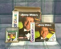 Jimmy White's Cueball Gameboy Colour Game - Snooker Game  - Rare in Original Box