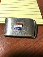 United Air Lines Vintage Master Plate Belt Buckle - United Airlines Uniform USA