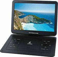 15.6 Inch TaoTronics Portable DVD Player with Swivel Screen Car Adapter in Black