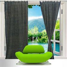 Zig Zag Block Print Curtain Set Handmade Door Drape Ajrakh Treatments Panels