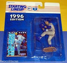 1996 HIDEO NOMO Los Angeles Dodgers Rookie grey - low s/h - Starting Lineup