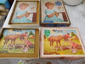Vintage Victory Children's Puzzles 1950's