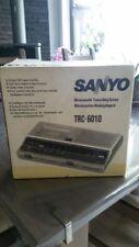 Sanyo TRC-6010 Memo-Scriber Wiedergabegerät  mit  3Micro-Cassetten Neu