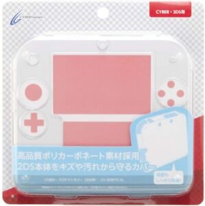 CYBER Gadget CYBER luck Protect cover for Nintendo 2DS Clear Japan