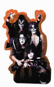 Aufkleber Kiss - TOP Vinyl Motiv-Sticker ca. 9,5x6,5cm Pyramid Photo selten