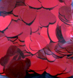 100 Pièce Décoration à Lancer Cœur Valentin Amour Love de Table