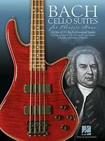 Bach Cello Suites Per elettrico basso di libro tascabile 9781480361867 NUOVO