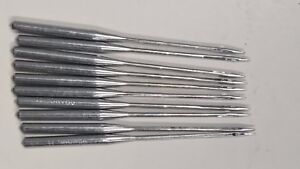 10 of BALL POINT ROUND SHAFT sewing machine needles, choose 70/9,75/11,90/14.UK