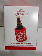 2014 HALLMARK Keepsake Ornament Do You Beer What I Beer? Lob B15