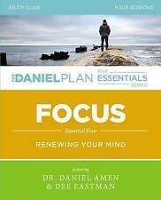 Focus Study Guide (The Daniel Plan Essentials Series), Eastman Amen, New Book