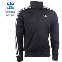 New Adidas Originals Firebird Poly Mens Full Zip Track Jacket Sports Top rrp £60