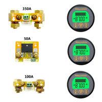Battery Monitor 80V 50-350A SOC AH Voltage AMP Capacity Tester Voltmeter Ammeter