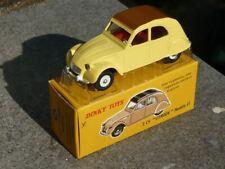 1/43 Dinky Toys Atlas F Citroen 2cv berline 1961 jaune 558 Neuf Boite