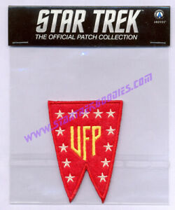 MINT Star Trek 2017 United Federation of Planets (UFP) Flag PATCH Sealed in BAG!