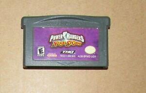 Power Rangers: Ninja Storm for Nintendo Game Boy Advance Fast Shipping!