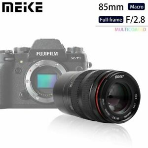 Meike 85mm F/2.8 Aspherical Medium Telephoto Full Frame for Fujifilm X Mount